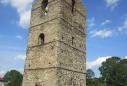 Оборонна вежа, що збереглася з часів Данила Галицького